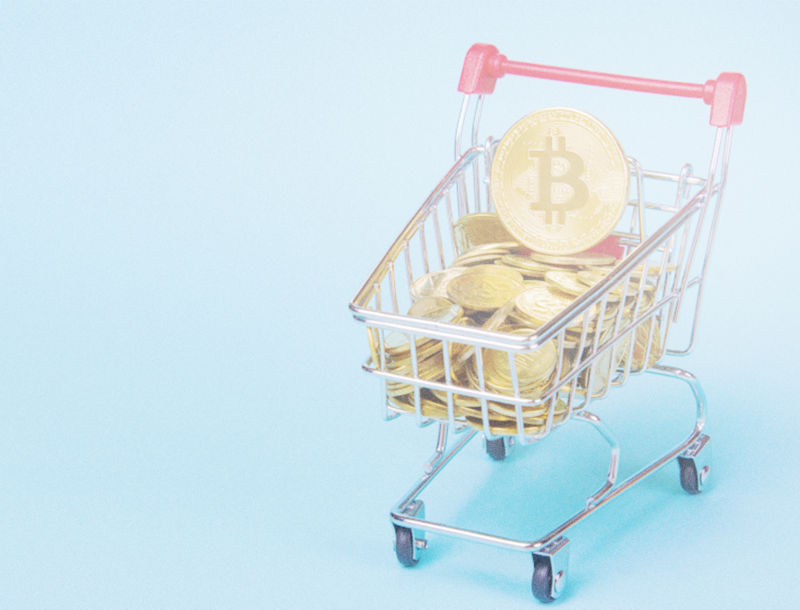Cryptocurrency invades e commerce market places